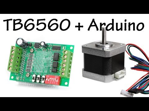 Controlling a Stepper Nema17 with a TB6560 and Arduino