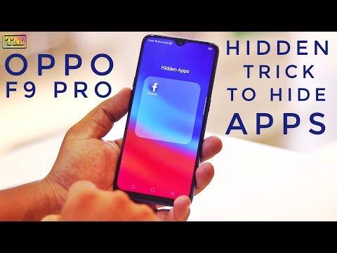 Oppo F9 Pro Hide Apps Hidden Trick