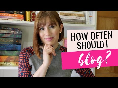 How Often Should I Blog For My Business?