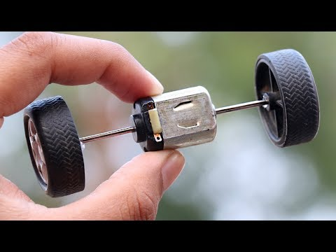 How to make Dual Shaft DC Motor | Double Shaft DC Motor