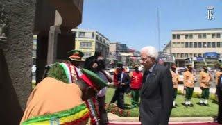 Mattarella in Etiopia, omaggio a liberazione da Italia fascista