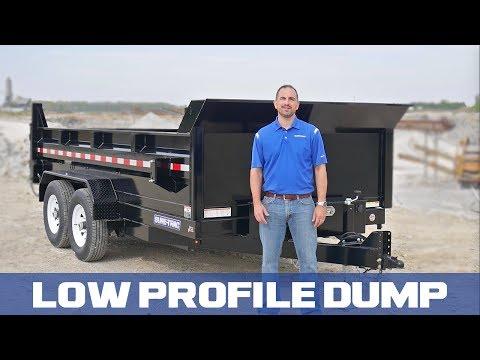 Sure-Trac HD Low Profile Dump