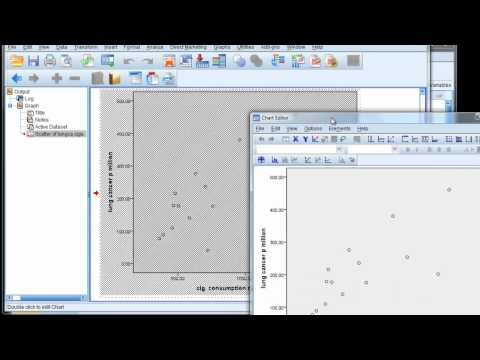 simple linear regression  in 8 steps (part 1 - in spss)