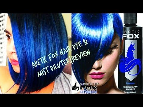 Poseidon Hair Dye and Arctic Mist Diluter Review by Supernaturallytammi | ARCTIC FOX HAIR COLOR