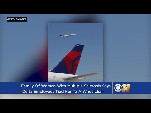 Disabled Woman Claims Delta Airlines Tied Her To A Wheelchair