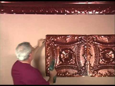 Introduction to SnapLock Tin Ceiling Tiles