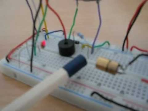 How to make a Mosfet Laser trip circuit