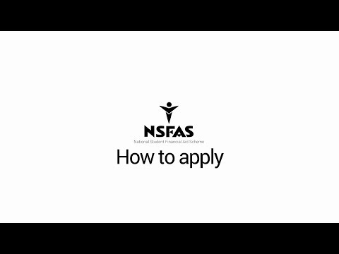 NSFAS - How to Apply : 2018 Application Online Animation Video
