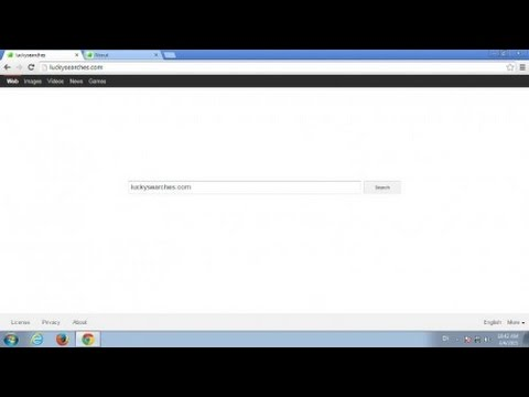 How to remove luckysearches.com from Chrome, Firefox, IE