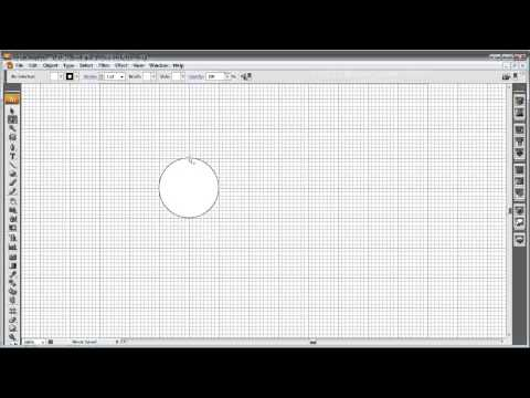 How to draw a circle with the pen tool in illustrator.