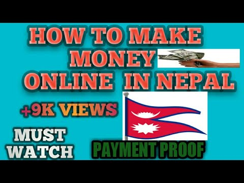Make Money Online In Nepal with Payment Proof 2018 Earn mobile recharge and transfer to Bank Account