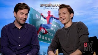Tom Holland Jon Watts Interview Spider man Homecoming