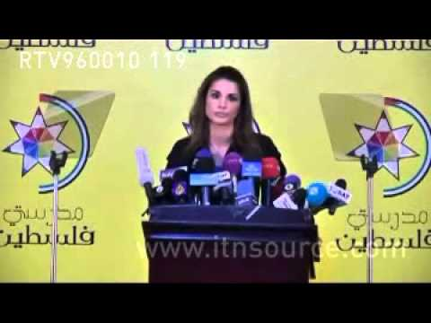Queen Rania speaks Arabic