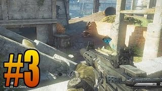 Playstation 4 Ghosts Search and Destroy! 5 KD Challenge Episode 3 (Call of Duty: Ghost PS4 Gameplay)