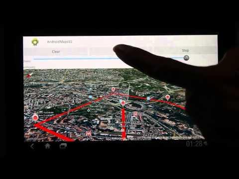 Google Maps V2 Animation with bearing