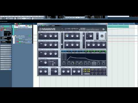 Tutorial - How to make the pluck in Spectrum by Zedd using Native Instruments Massive.