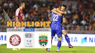 Highlight TP.HCM vs Becamex Bình Dương - Công Phượng tỏa sáng - HLV Chung nổi cáu