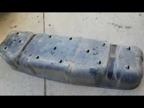 DIY Tundra Fuel Tank Skid Plate Fabrication PT 1