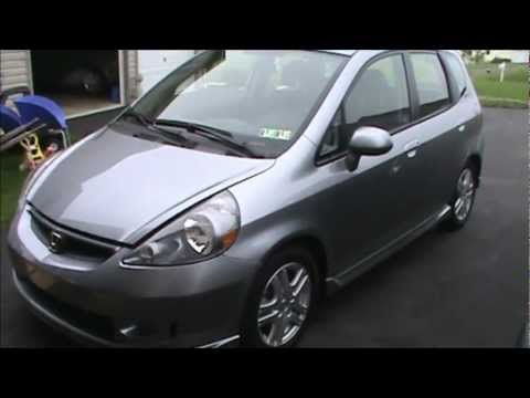 How to change the oil in a Honda Fit