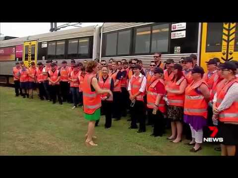 Ads placed to get experienced train drivers & tutors at Qld Rail