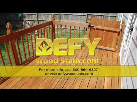 DEFY Wood Stain Video