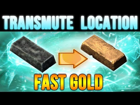 Skyrim Transmute Spell Location - FAST Gold Guide at Level 1!
