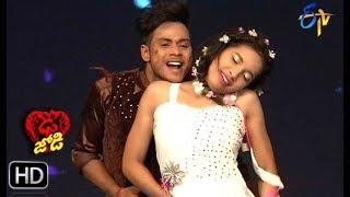 Subhash and Mansi Performance | Dhee Jodi |19th June 2019    | ETV Telugu