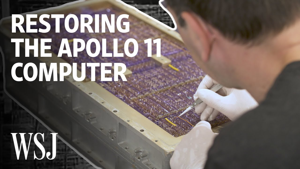 Restorers Try to Get Lunar Module Guidance Computer Up and Running   WSJ