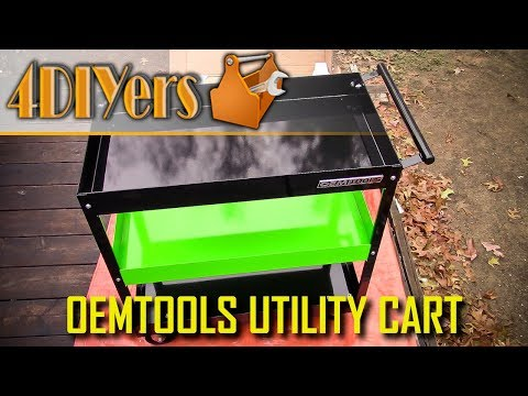 Review: OEMTOOLS 3 Shelf Utility Cart 24635
