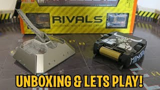 UNBOXING & LETS PLAY - BATTLEBOTS RIVALS (BETA AND MINOTAUR) -  by HEXBUG - FULL REVIEW!