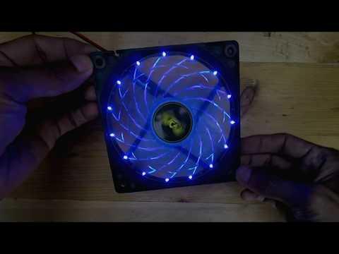 Armaggeddon Azure Blade 12cm Blue LED Fan