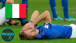 Top 5 Nations that FAILED to Qualify for the 2018 World Cup