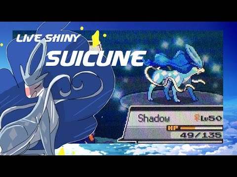[WSHC #2] LIVE! Shiny Suicune after 7,518 SRs in SoulSilver! (100 subs!)