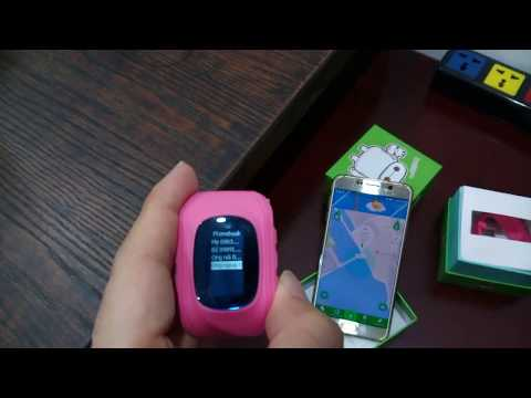 Check your kids' location with GPS tracker watch for children
