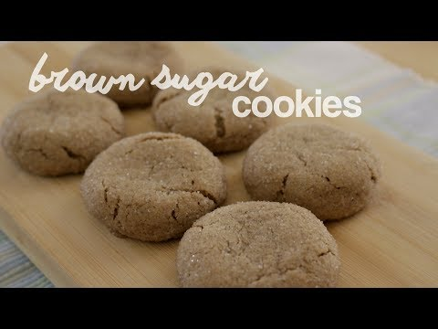 How to Make Brown Sugar Cookies