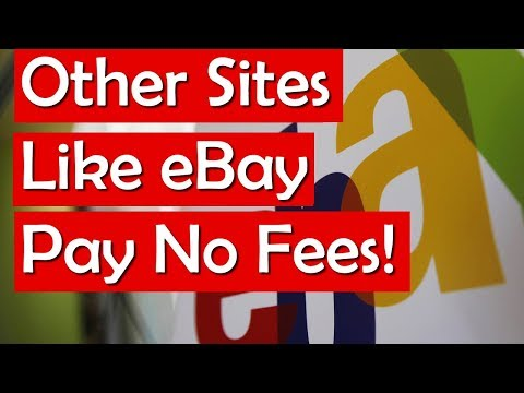 Auction Sites Like eBay other online bidding sites with LESS FEES