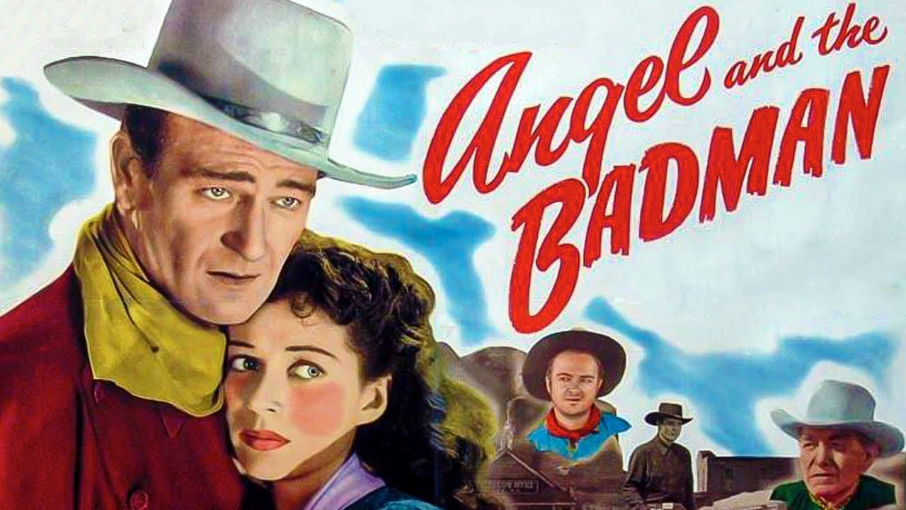 Angel and the Badman (1947) Romance Western Colorized