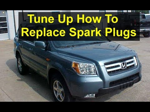 How to do a tune up, spark plugs replacement on a Honda Pilot - VOTD