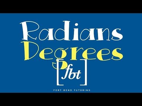 Converting Radians to Degrees [fbt]