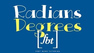 Converting Radians To Degrees Fbt