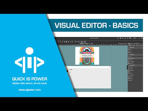 Visual Editor Basics - Qipster Tutorial