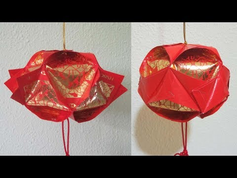 CNY TUTORIAL NO. 71 - 10-piece Hongbao Lantern