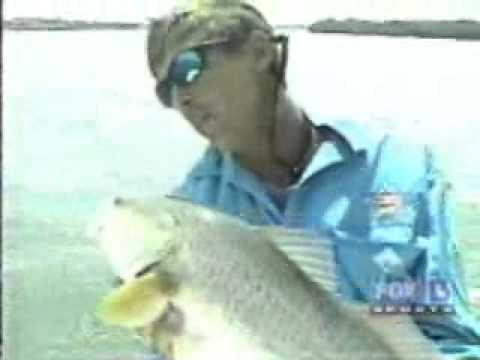 Capt Doug Hemmer catching REDFISH in Tampa Bay