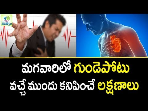 Heart Attack Symptoms in Men - Mana Arogyam | Heart Care Tips