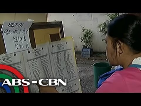 TV Patrol: Mga 'nawalang' pangalan sa voters' list, nagdulot ng kalituhan sa Caloocan