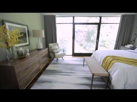 Interior Design — Tailored, Industrial & Masculine Bedroom Makeover