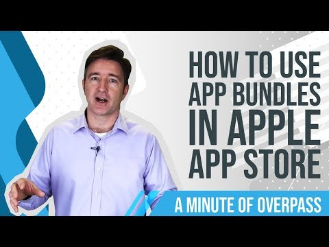 How to Use App Bundles in Apple App Store - A Minute of Overpass