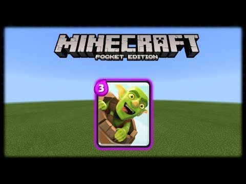 Minecraft PE | How to Make a Working Goblin Barrel