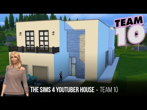 The sims 4 Youtuber Home - Team10 Part2 (second floor)