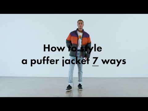 How to style a puffer jacket 7 ways | ASOS Menswear Tutorial